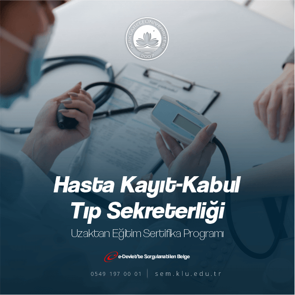 Hasta Kabul Sertifika Programındanedildikleri sağlık kuruluşlarını, özelliklerini ve amaçlarını yakından bilmek durumundadırlar.