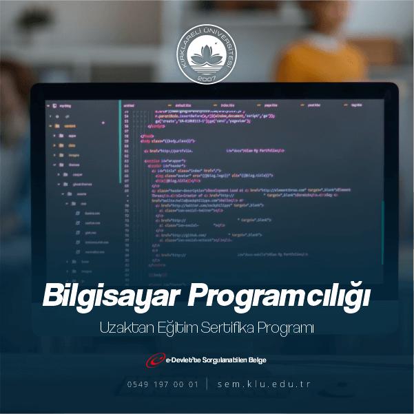 Bilgisayar programcısı, çeşitli yazılım dillerini kullanarak amaca uygun bilgisayar programı oluşturan veya oluşturulmasına yardımcı olan kişidir.
