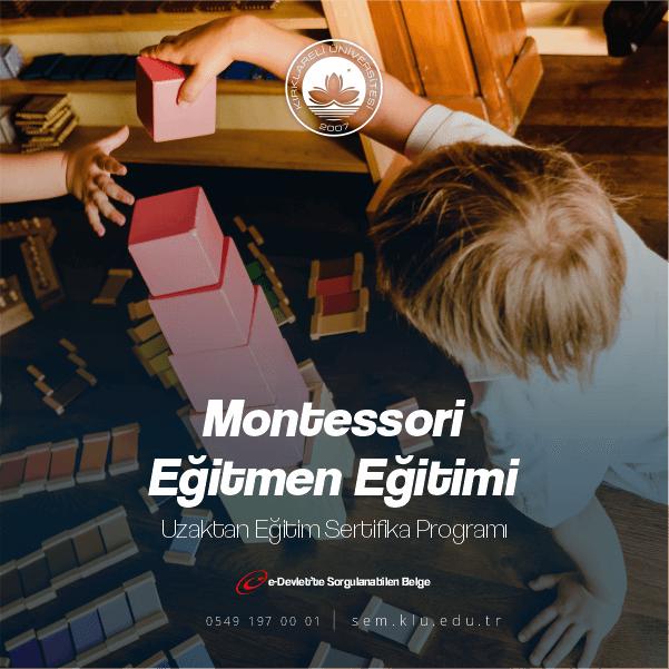 Montessori Uygulayıcı Sertifikası ile ek ders alabilir,sınıf açabilirsiniz.Belgelerimiz kamu ve özel sektörde geçerli olmakla birlikte ömür boyu geçerliliği bulunmaktadır.