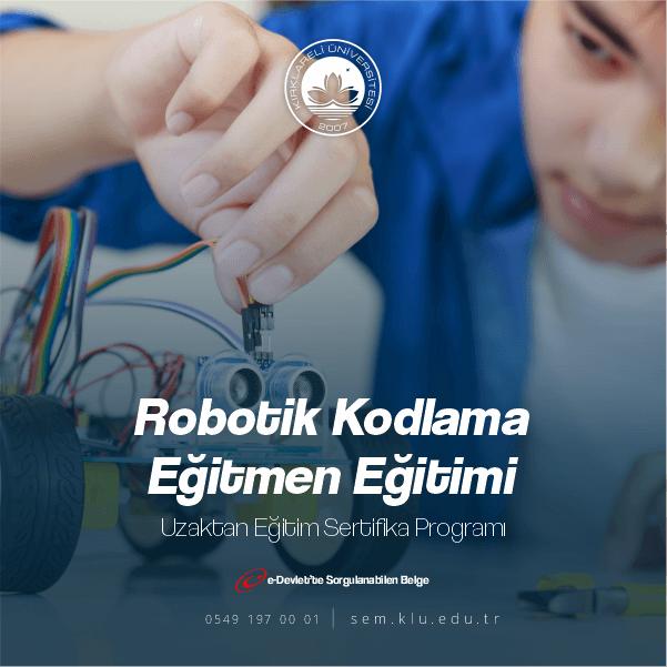 Robotik Kodlama Uygulayıcı Sertifikası ile ek ders alabilir,sınıf açabilirsiniz.Belgelerimiz kamu ve özel sektörde geçerli olmakla birlikte ömür boyu geçerliliği bulunmaktadır.